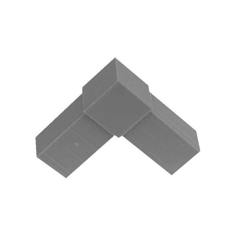 Tip L for square tubes 20x20mm 2020L Private Label - Ornibird 0,50 € Ornibird