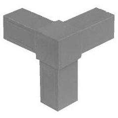 Embout 3D pour tubes carrés 20x20mm