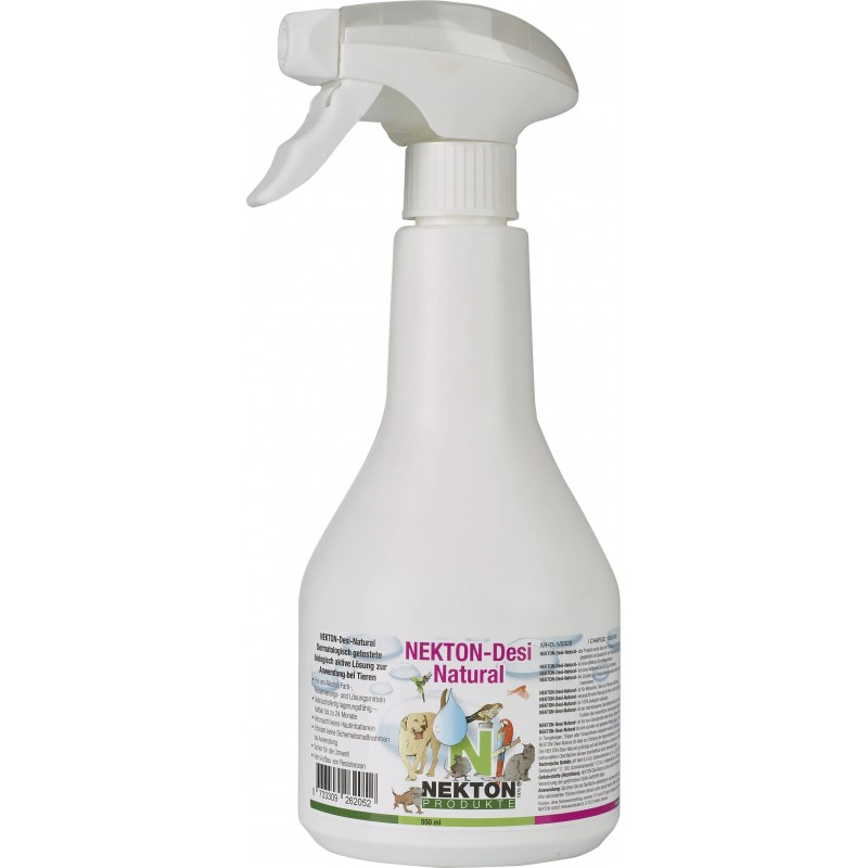 Nekton-Desi-Natural spray 550ml - a natural Disinfectant - Nekton 2620550 Nekton 19,99 € Ornibird