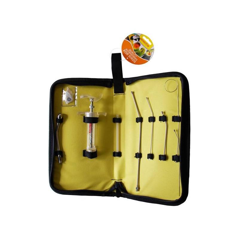 Kit di alimentazione a mano con 5 sonde e 1 stantuffo della siringa 20ml