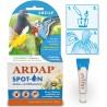 Ardap Spot-On protège contre les poux chez les oiseaux 2 x 4ml - Quiko