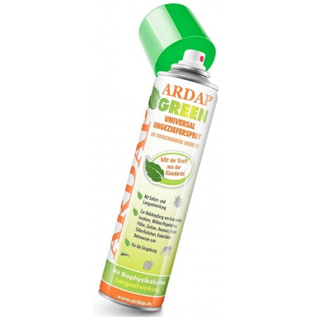Ardap Green en Spray, solution 100% naturelle contre les indésirables 400ml - Quiko