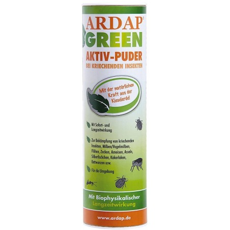 Ardap Green Powder, solution 100% natural against the adverse 100gr - Quiko