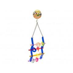 Jouet Ladder en acrylique avec anneaux 14029 Benelux 17,40 € Ornibird
