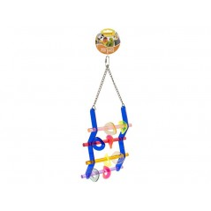 Toy Ladder acrylic with rings 14029 Benelux 17,40 € Ornibird