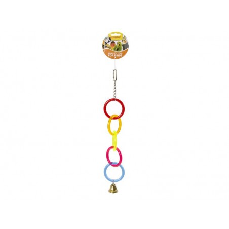 Toy Rings in acrylic with bell 40cm