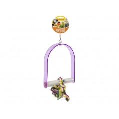 Jouet Perche en acrylique avec corde à noeuds 35cm 14019 Benelux 12,10 € Ornibird