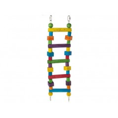 Toy wooden Pole, double with 5 steps 14014 Benelux 13,69 € Ornibird