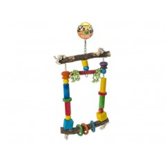 Toy wooden Pole with 3 rings 14013 Benelux 13,69 € Ornibird
