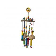 Jouet Perche avec corde à noeuds et échelle de noix de coco 14011 Benelux 35,25 € Ornibird