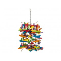 Toy Rope knots with wooden blocks 70cm 14006 Benelux 28,89 € Ornibird