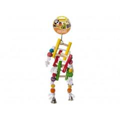 Jouet Corde à noeuds avec échelle en bois 14001 Benelux 8,30 € Ornibird