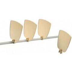 Séparation anti-picage à fixer sur le perchoir - S.T.A Soluzioni I050 S.T.A. Soluzioni 1,02 € Ornibird