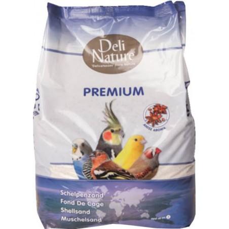 Fond de cage Premium blanc 5kg