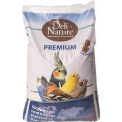 Fond de cage Premium blanc 20kg 023602 Deli-Nature 9,75 € Ornibird