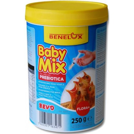 Baby Mix 250gr, nourriture pour élevage à la main avec prébiotiques - Benelux