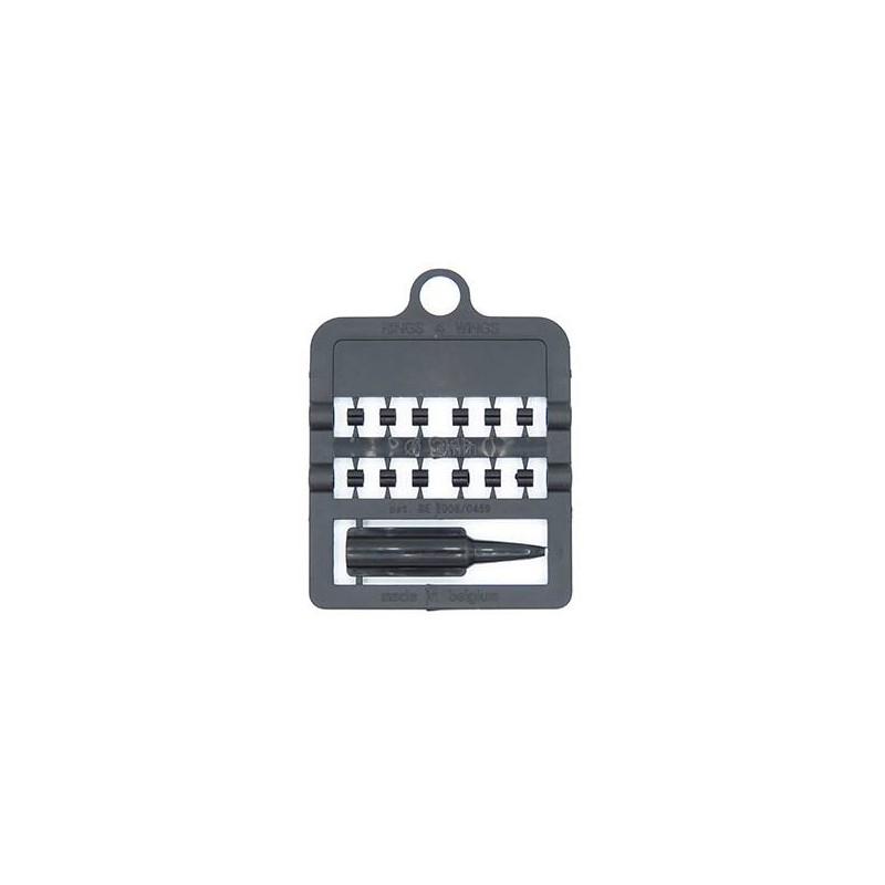 Bagues fendues E-Z - Taille: 3 mm - Couleur: Noir 850SR3-Black Rings 4 Wings 1,95 € Ornibird