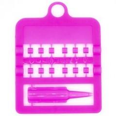 Bagues fendues E-Z par 12 pièces - Taille: 3 mm - Couleur: rose 850SR3-Pinky Rings 4 Wings 1,95 € Ornibird