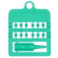 Bagues fendues E-Z par 12 pièces - Taille: 3 mm - Couleur: Vert 850SR3-Green Rings 4 Wings 1,95 € Ornibird