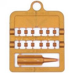 Bagues fendues E-Z par 12 pièces - Taille: 3 mm - Couleur: Cuivre 850SR3-Copper Rings 4 Wings 1,95 € Ornibird