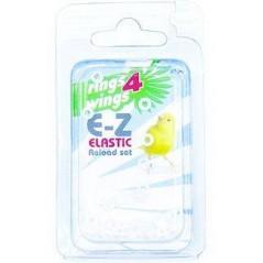 Bagues élastiques E-Z par 50 pièces - Taille: 3.5mm - Couleur: Blanc 880ERR35-White Rings 4 Wings 5,95 € Ornibird