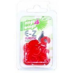 Bagues élastiques E-Z par 50 pièces - Taille: 8 mm - Couleur: Jaune 880ERR08-Red Rings 4 Wings 5,95 € Ornibird