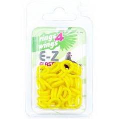 Bagues élastiques E-Z par 50 pièces - Taille: 9 mm - Couleur: Jaune 880ERR09-Yellow Rings 4 Wings 5,95 € Ornibird
