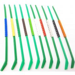 10 Bagues ouvertes clic en plastique pour exotiques Taille : 2,5mm Couleur :Gris 14465 / Blanc Benelux 1,54€ Ornibird