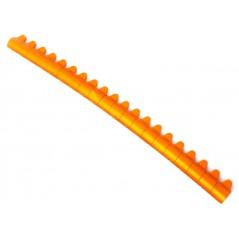 20 Bagues ouvertes en aluminium pour perruches Taille : 4mm Couleur : Orange