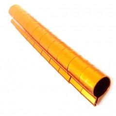 10 Bagues ouvertes en aluminium pour grandes perruches Taille : 6mm Couleur : Orange
