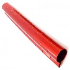 10 Bagues ouvertes en aluminium pour grandes perruches Taille : 6mm Couleur : Rouge