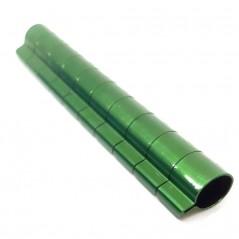 10 Bagues ouvertes en aluminium pour grandes perruches Taille : 6mm Couleur : Vert