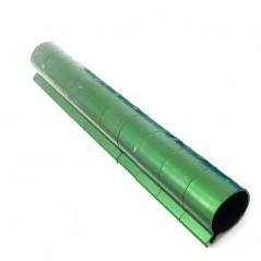 10 Bagues ouvertes en aluminium pour faisans Taille : 12mm Couleur : Vert