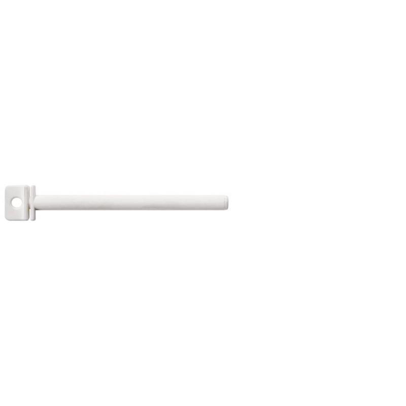 Perchoir blanc tournant en plastique 15cm