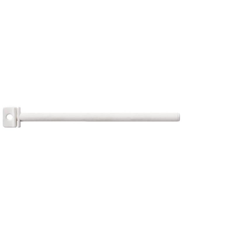 Perchoir blanc tournant en plastique 21.5cm