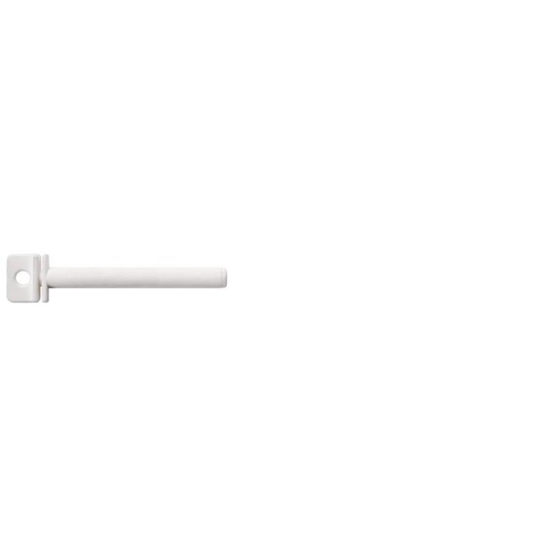 Perchoir blanc tournant en plastique 10cm