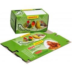 Boite en carton pour le transport de petits oiseaux 14771 Benelux 0,30 € Ornibird