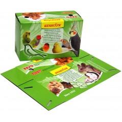 Boite en carton pour le transport d'oiseaux 22x14x9cm 14773 Benelux 0,45 € Ornibird