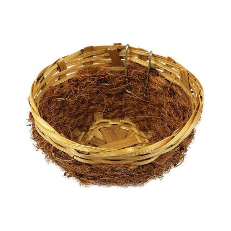 Nest wicker and coco for the canaries 11.5 cm