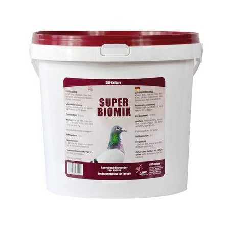 Super Bio Mix (minerals specifically designed for the orientation and digestion) 10l - DHP