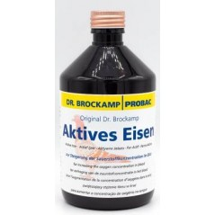Iron active (a supplement of iron + accelerates the transport of oxygen) 500ml - Dr. Brockamp - Probac 36008 Dr. Brockamp - P...
