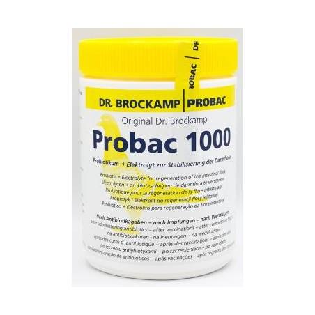 Probac 1000 (électrolytes + probiotiques ) 500gr - Dr. Brockamp - Probac