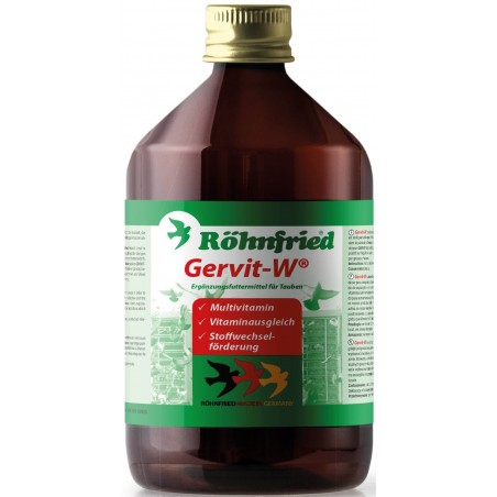 Gervit-W (mulivitamine for the entire year) 500ml - Röhnfried - Dr. Hesse Tierpharma GmbH & Co. KG