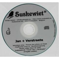 Chaffinches CD song : Jan + Verstraete - Suskewiet 20009 Suskewiet 11,20 € Ornibird