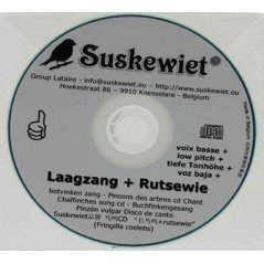 Chaffinches CD song : low voice + rutsewie - Suskewiet 20007 Suskewiet 11,20 € Ornibird