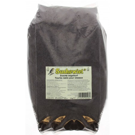 Tourbe noire pour oiseaux 2kg - Suskewiet