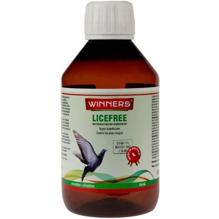 Licefree concentrated solution against head lice 250ml - Winners