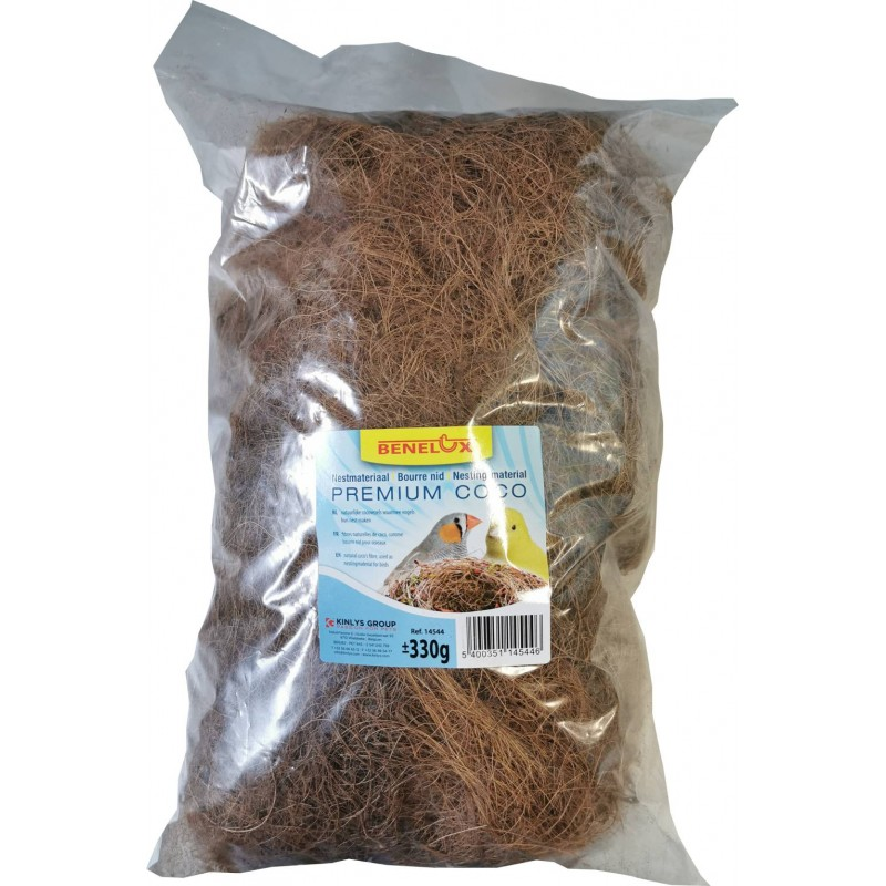 Fill nest with coconut fibre +/- 300g