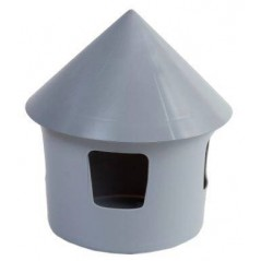 Fontaine d'eau normale en plastique grise - 2L
