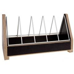 Mangeoire à grit en bois avec grille basculante - 30cm 26066 Private Label - Ornibird 9,95 € Ornibird